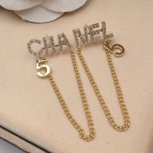 c fashion earrings